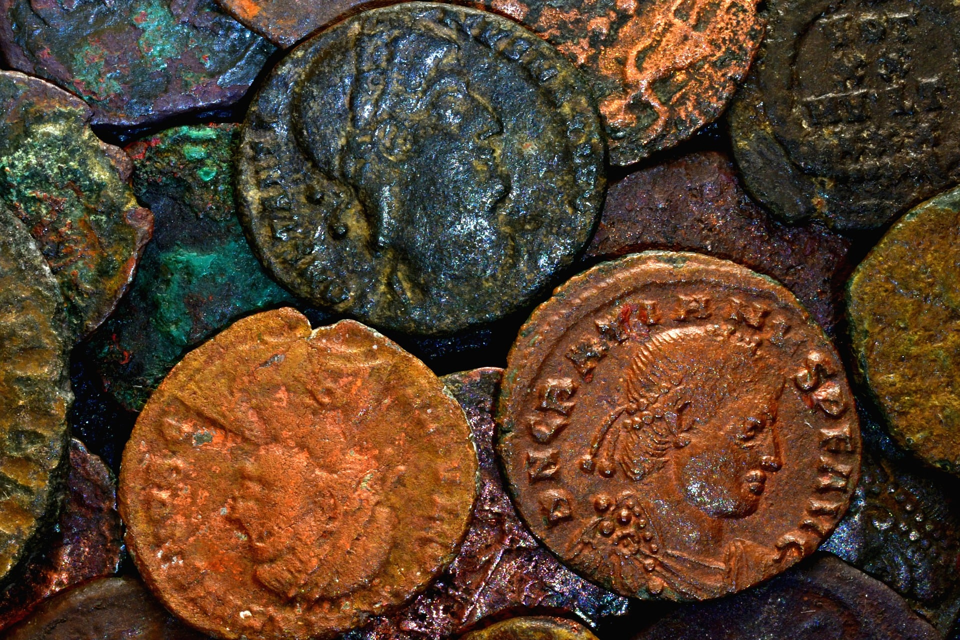 Ancient Coins as Collections