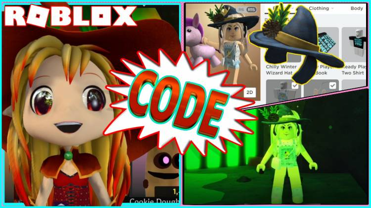 ROBLOX PROMO CODE FOR CHILLY WINTER WIZARD HAT and BANANA EATS CODE - November 25 2020