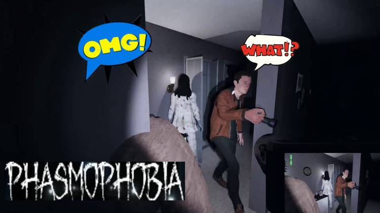 Horror Game Funny Montage: Phasmophobia Part 1