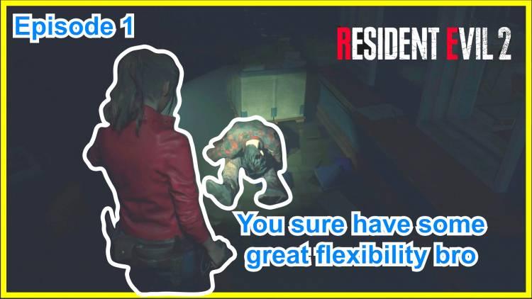 Horror let's play: Resident Evil 2 Remake Part 1