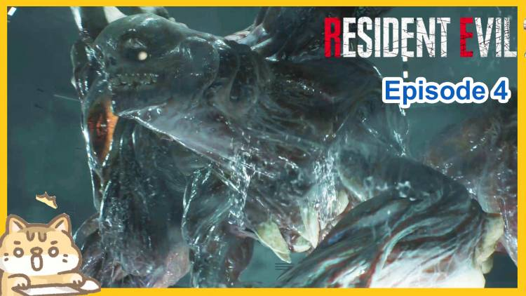 Horror let's play: Resident Evil 2 Remake Part 4 [Route A End]