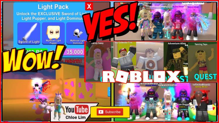 Roblox Mining Simulator Gamelog - August 4 2018