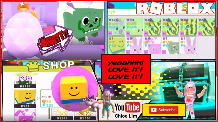 Roblox Pet Simulator Gamelog - August 27 2018