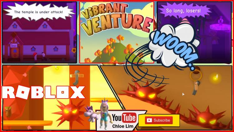 Roblox Vibrant Venture Gamelog - September 19 2018