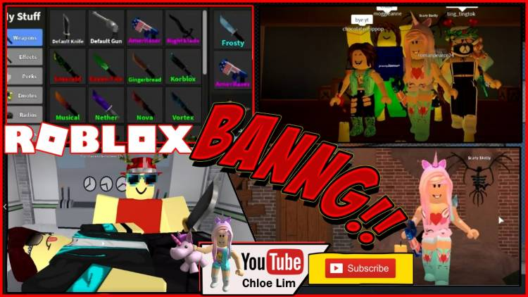 Roblox Murder Mystery 2 Gamelog - November 7 2018