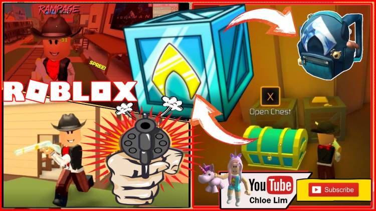 Roblox Bandit Simulator Gamelog -  Channel: Chloe Lim Uploaded time: 2018