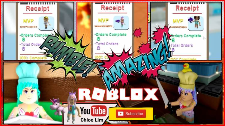 Roblox Dare To Cook Gamelog - March 29 2019