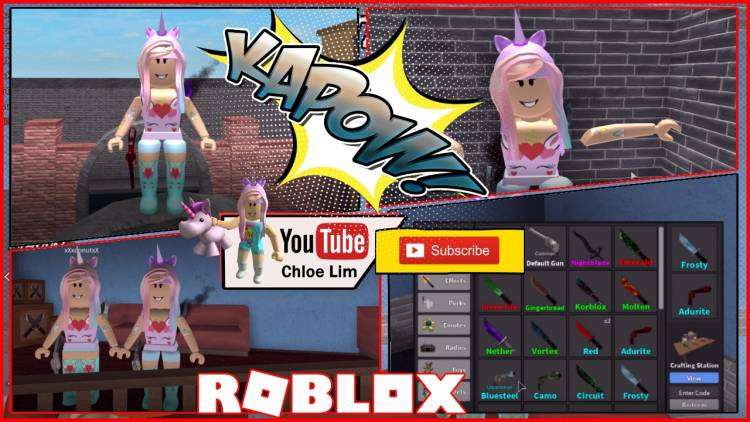 Roblox Murder Mystery 2 Gamelog April 29 2018 Free Blog Directory