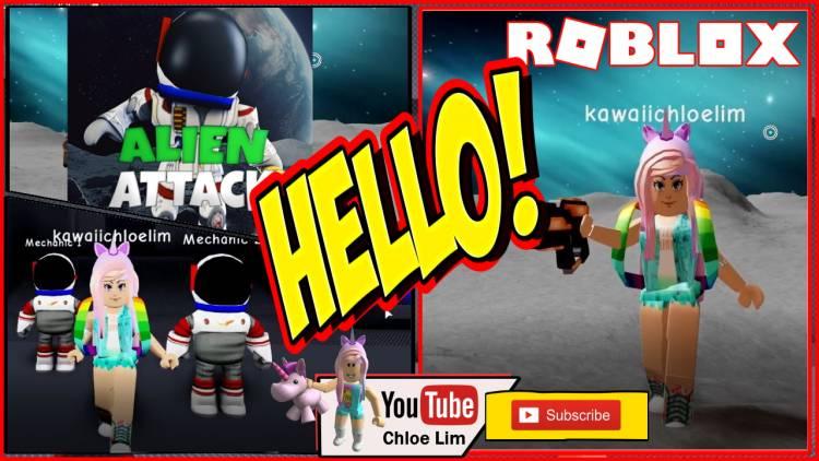 Roblox Alien Attack Gamelog - September 12 2019