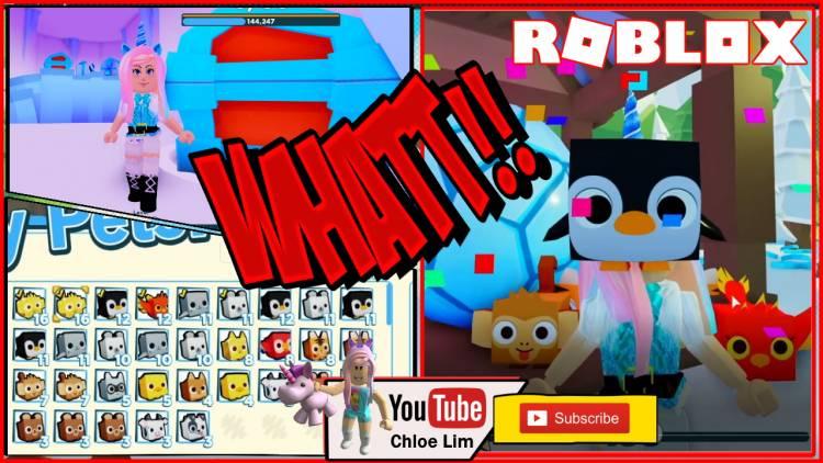 Roblox Pet Simulator 2 Gamelog - December 09 2019