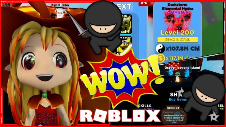 Roblox Ninja Legends Gamelog - January 31 2020