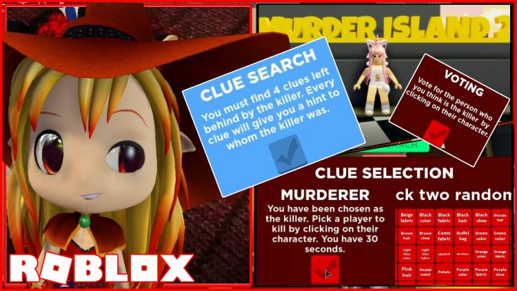 Roblox Murder Island 2 Gamelog - March 31 2020