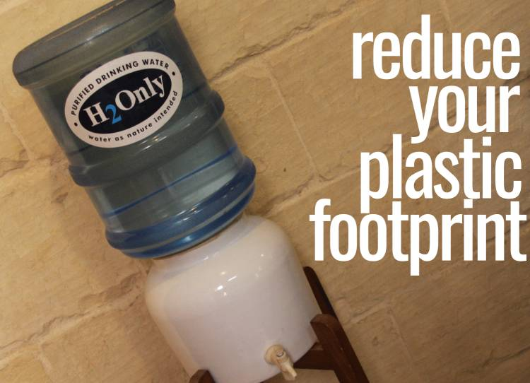 Are you generating 1456 plastic bottles of waste a year?