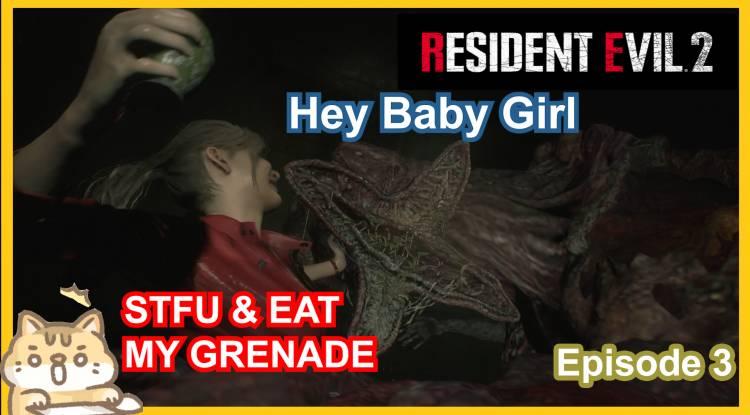 Horror let's play: Resident Evil 2 Remake Part 3