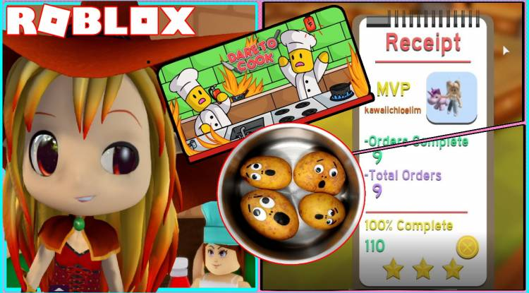 Roblox Dare to Cook Gamelog - February 12 2021