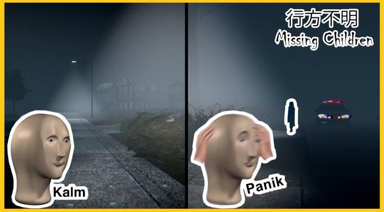 Horror let's play: Missing Children | 行方不明 - Japanese Horror Indie Game Bad Ending