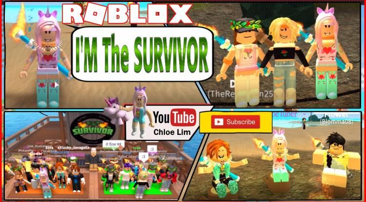 Roblox Survivor Gamelog - July 26 2018