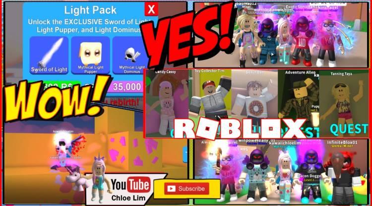 Roblox Mining Simulator Gamelog - August 4 2018