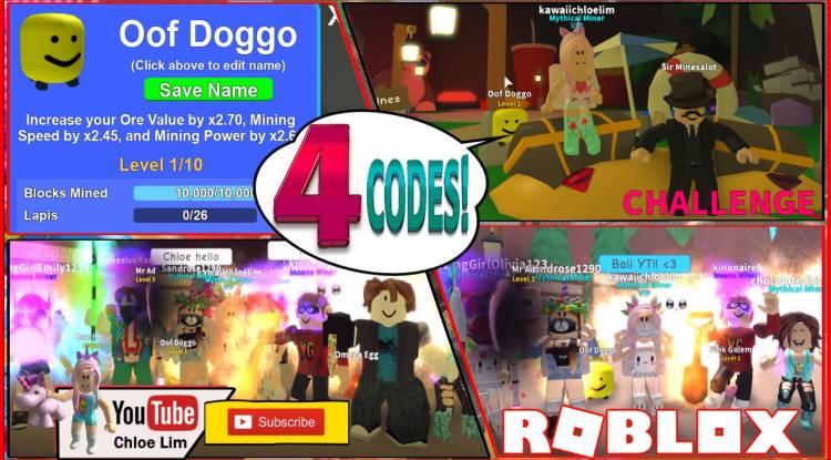 Roblox Mining Simulator Gamelog - August 12 2018