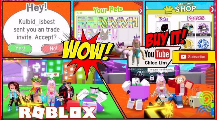 Roblox Pet Simulator Gamelog - August 22 2018