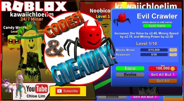 Roblox Mining Simulator Gamelog - October 28, 2018