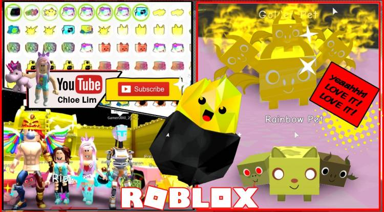 Roblox Pet Simulator Gamelog - November 11 2018