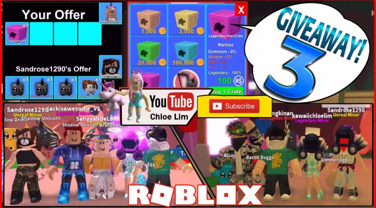 Roblox Mining Simulator Gamelog - May 7 2018
