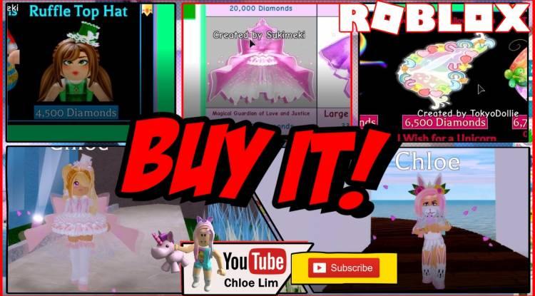 Roblox Royale High Gamelog - April 13 2019