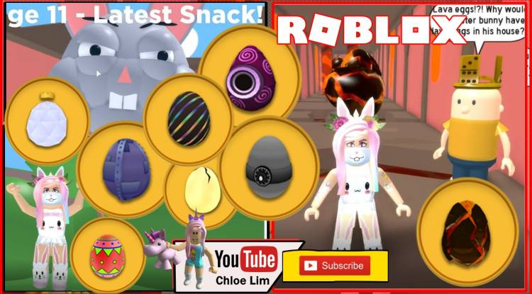 Roblox Escape the Easter Bunny Obby Gamelog - April 20 2019