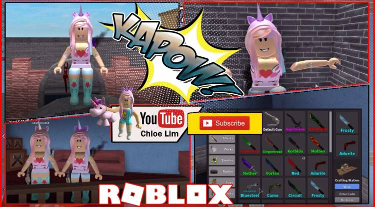 Roblox Murder Mystery 2 Gamelog - April 29 2018