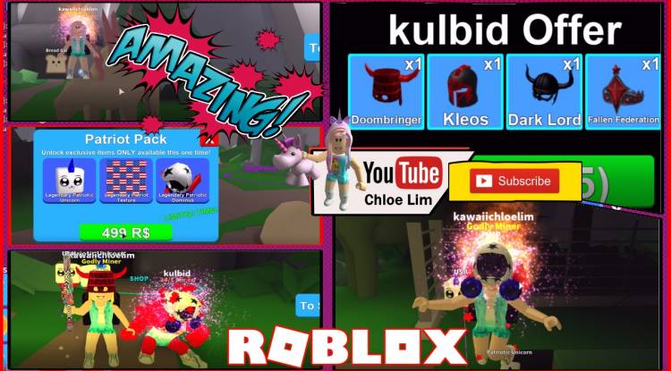 Roblox Mining Simulator Gamelog - May 26 2018