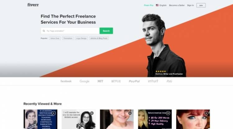 Fiverr - Freelance Services Marketplace for Businesses