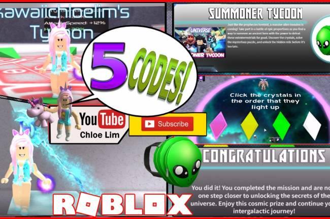 Roblox Summoner Tycoon Gamelog - July 1 2018