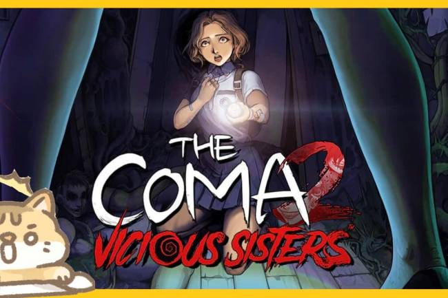 Horror let's play: The Coma 2 Vicious Sisters gameplay Part 3
