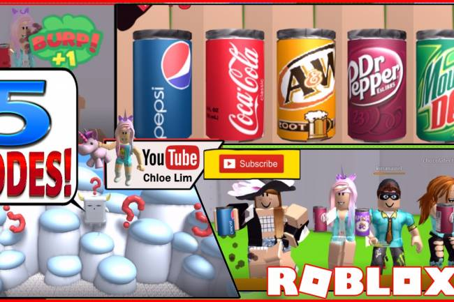 Roblox Soda Drinking Simulator Gamelog - July 10 2018