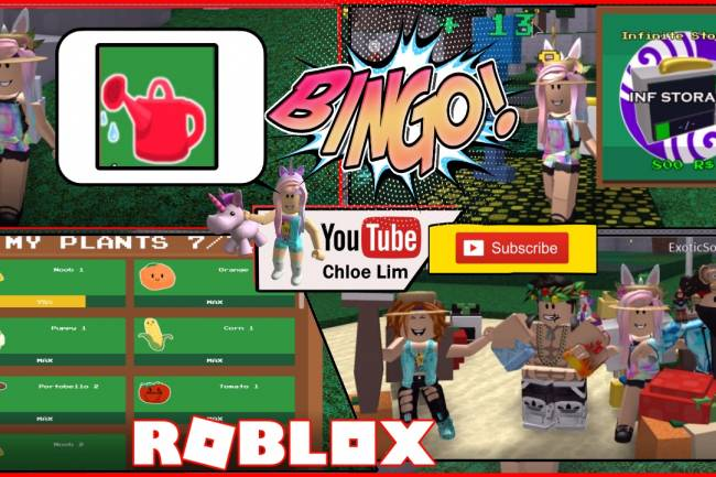 Roblox Gardening Simulator Gamelog - July 18 2018