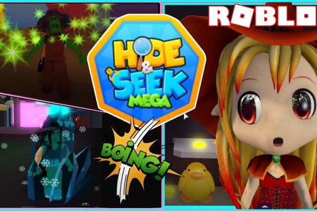 Roblox Mega Hide and Seek Gamelog - June 13 2021