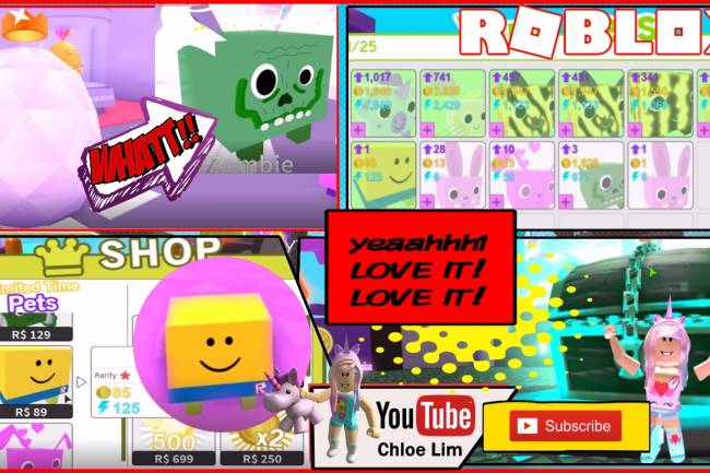 Roblox Pet Simulator Gamelog - August 27 2018