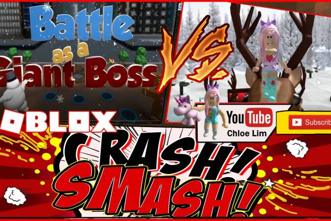 Roblox Battle As A Giant Boss Gamelog - February 6 2019