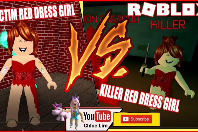 Roblox Survive The Red Dress Girl Gamelog - February 17 2019