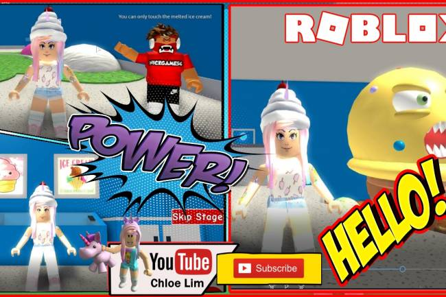 Roblox Escape The Ice Cream Shop Obby Gamelog - March 11 2019