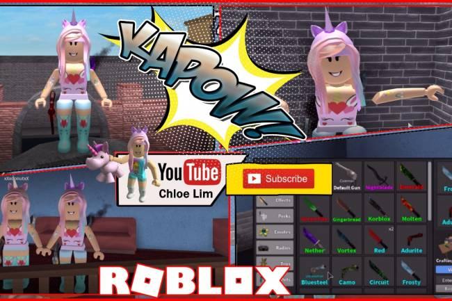 Roblox Murder Mystery 2 Gamelog - April 29 2018