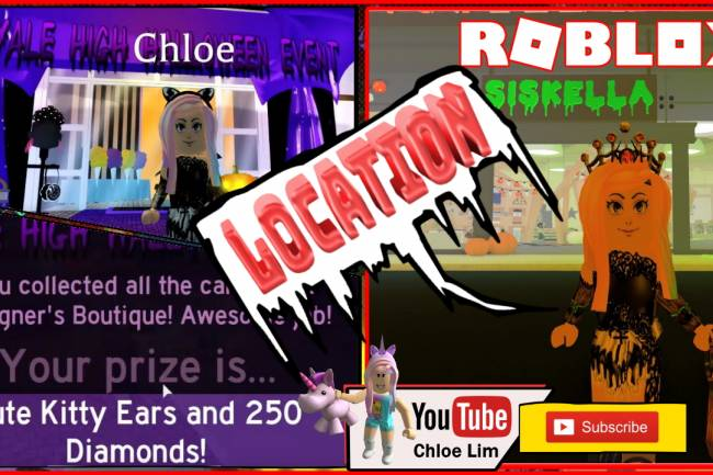 Roblox Royale High Halloween Event Gamelog - October 04 2019