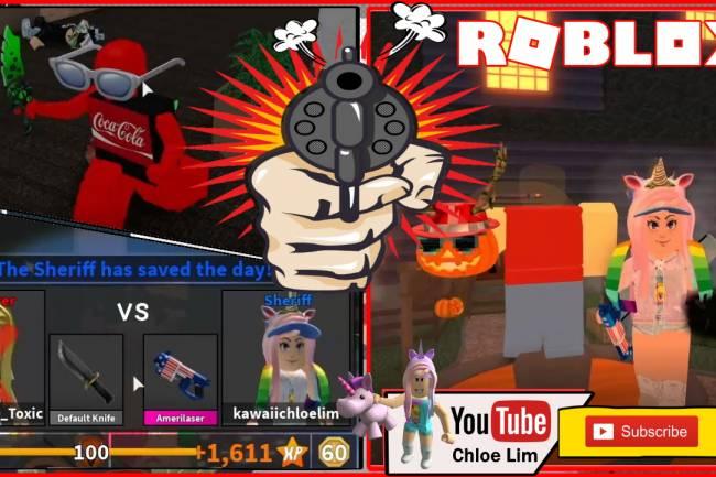 Roblox Murder Mystery 2 Gamelog - November 06 2019