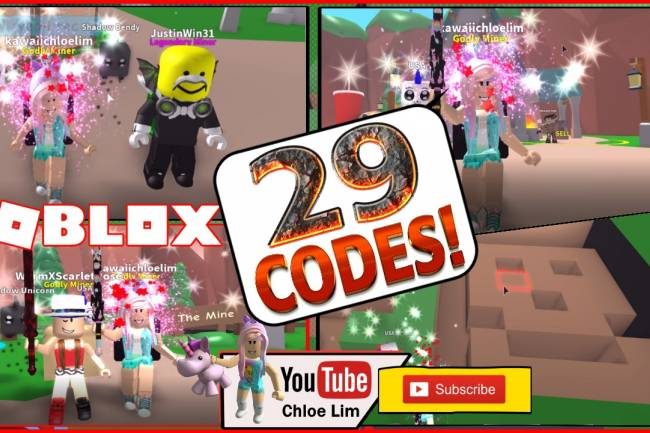 Roblox Mining Simulator Gamelog - May 28 2018