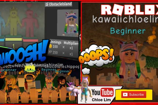 Roblox Obstacle Island Gamelog - November 25 2019
