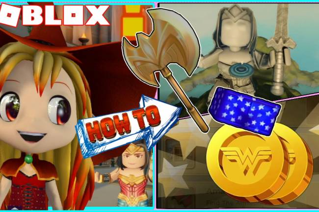 Roblox Wonder Woman Gamelog - June 27 2020